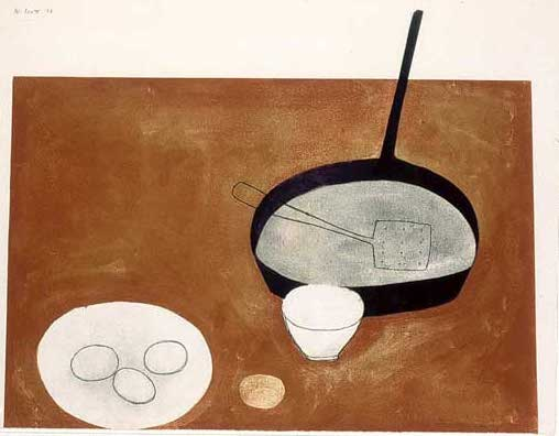 Still life  With Frying Pan 1973