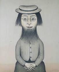 Woman with Beard
