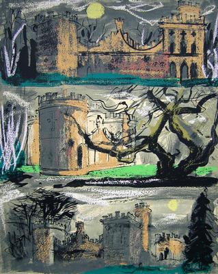 Clytha Castle Triptych