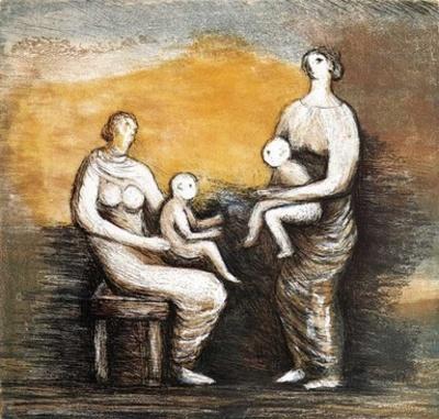 Mother & Child XVI