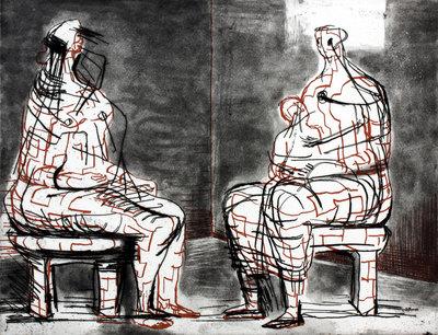 Henry Moore Original Etching