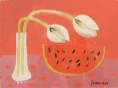 Tulips and Melon