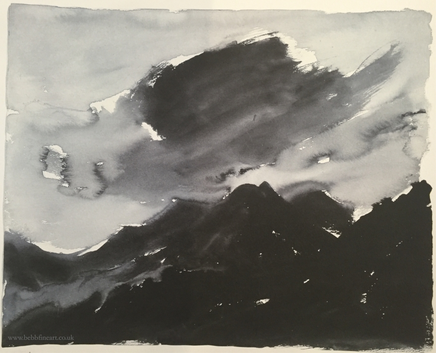 Stormy Snowdonia