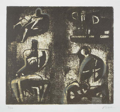 Henry Moore. Lithograph SOLD