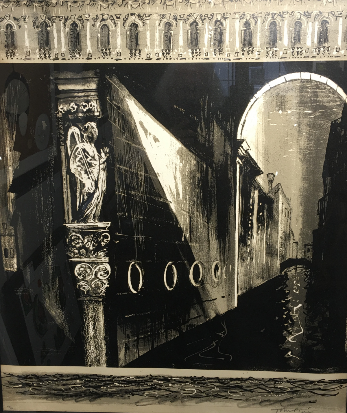 Death in Venice (left hand side panel)