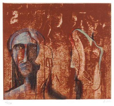 Henry Moore (1898-1986) Original Lithograph