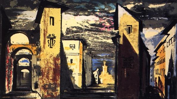 Street Scene in Don Giovanni