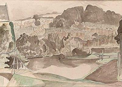 The River Bures Suffolk