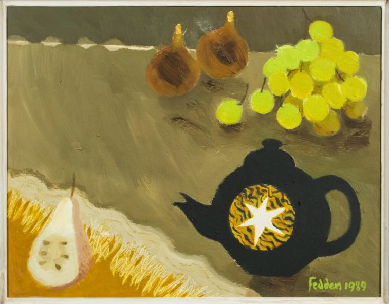 still life. The black tea pot ( SOLD )
