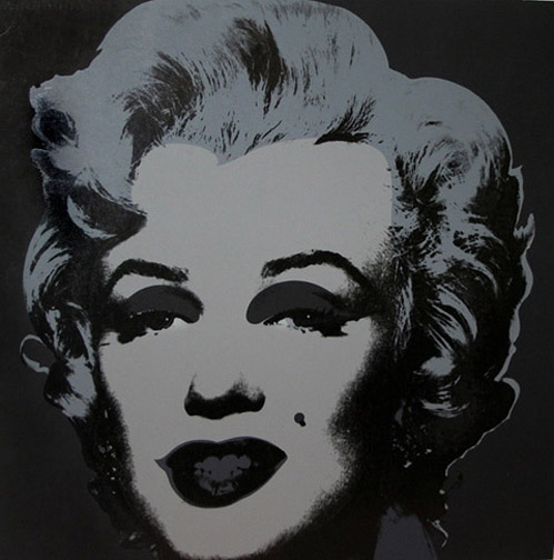 Marilyn (black and white)