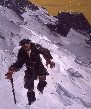 John Jones in the Snow