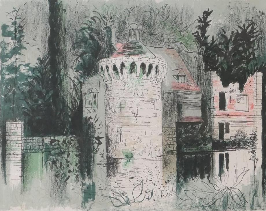 JOHN PIPER: Scotney Castle