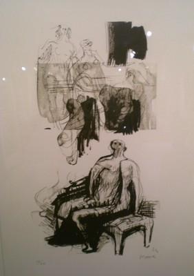 Henry Moore Original Lithograph